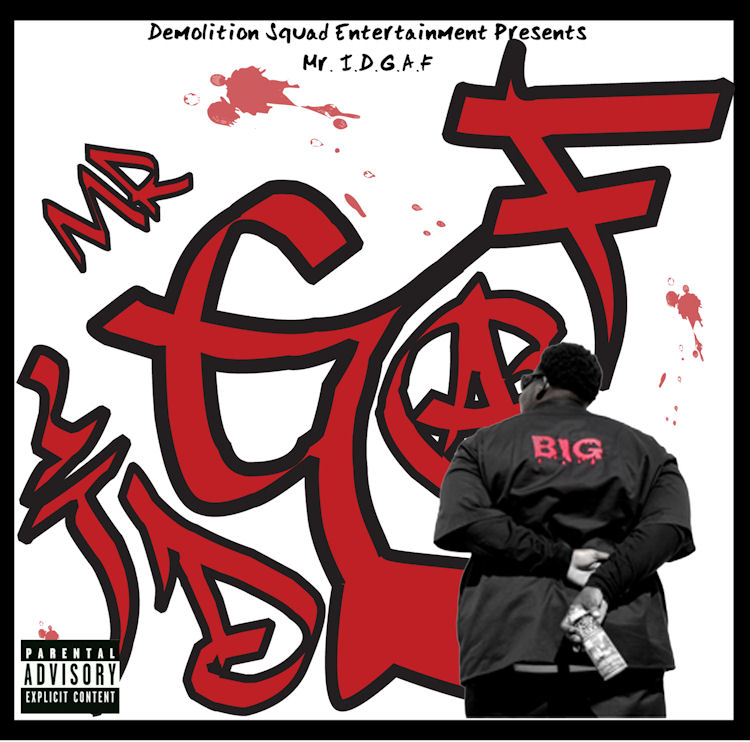 Mr. IDGAF front cover 750